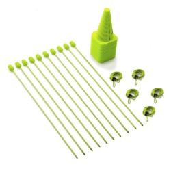 Zestaw sprawnościowo-szybkościowy (na trawę - 35 elementów)